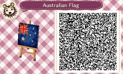 Australia Aus Qr Codes Animal Crossing Animal Crossing Qr