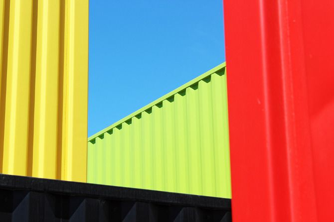 container shops in Christchurch NZ by www.mattwatkinson.co.uk