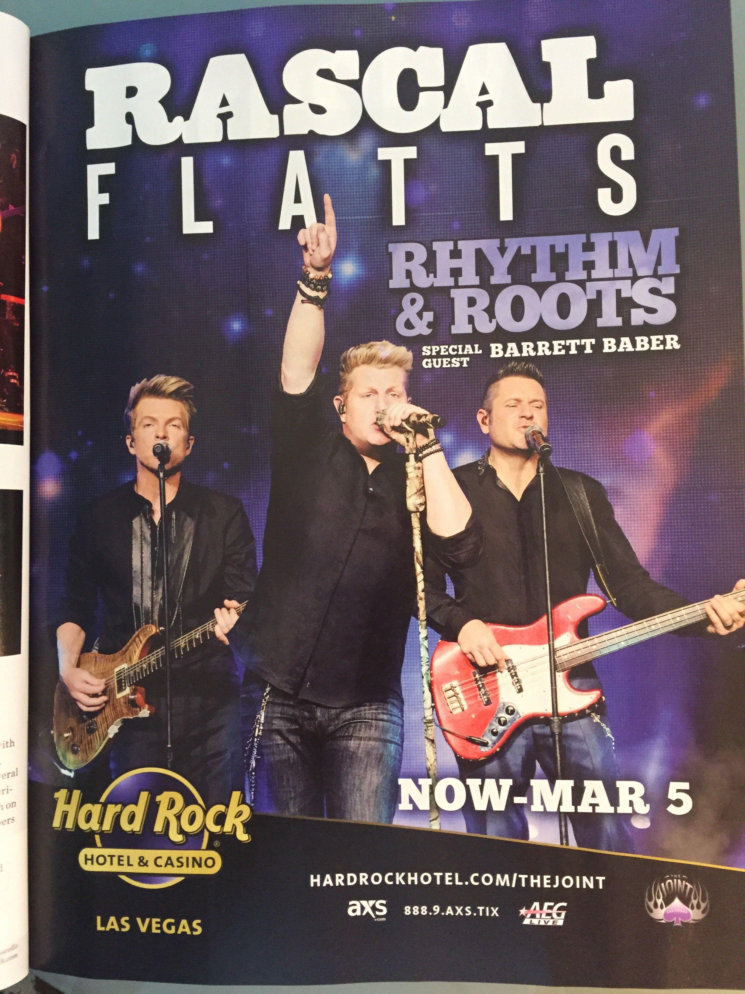 Magazine ad in Vegas