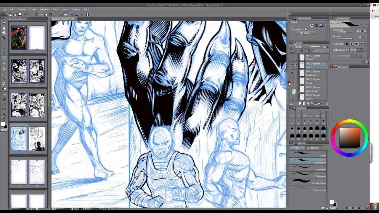 Manga Studio And Wacom Brush Settings Tutorial Narrated Video Manga Studio Manga Studio Tutorial Clip Studio Paint