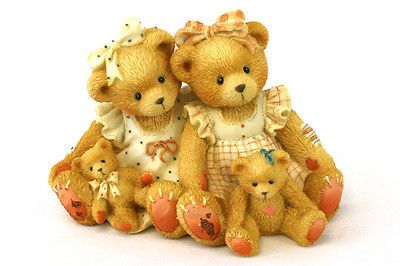 Cherished Teddies Allison & Alexandria Two Friends Twice the Love 1995 Figurine