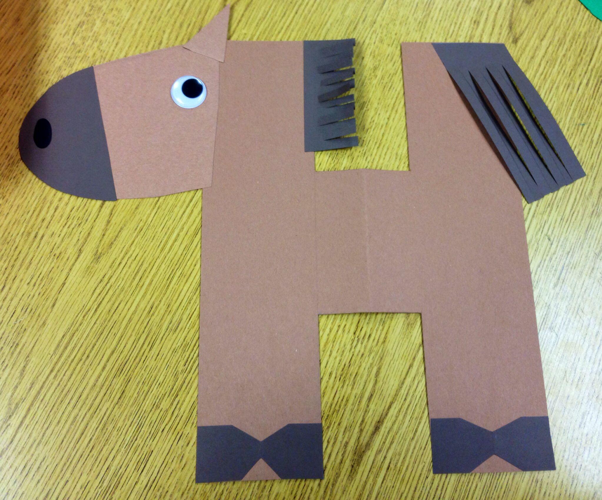Letter H For Horse