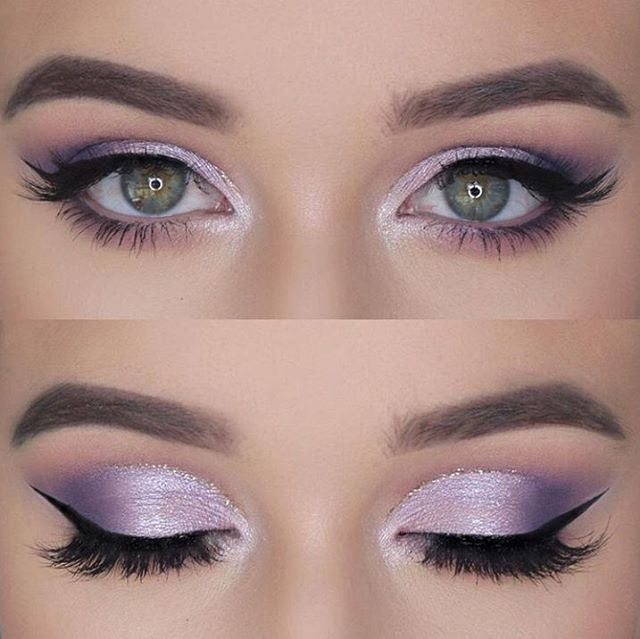 "Morphe on Instagram: ""Lavender lids"