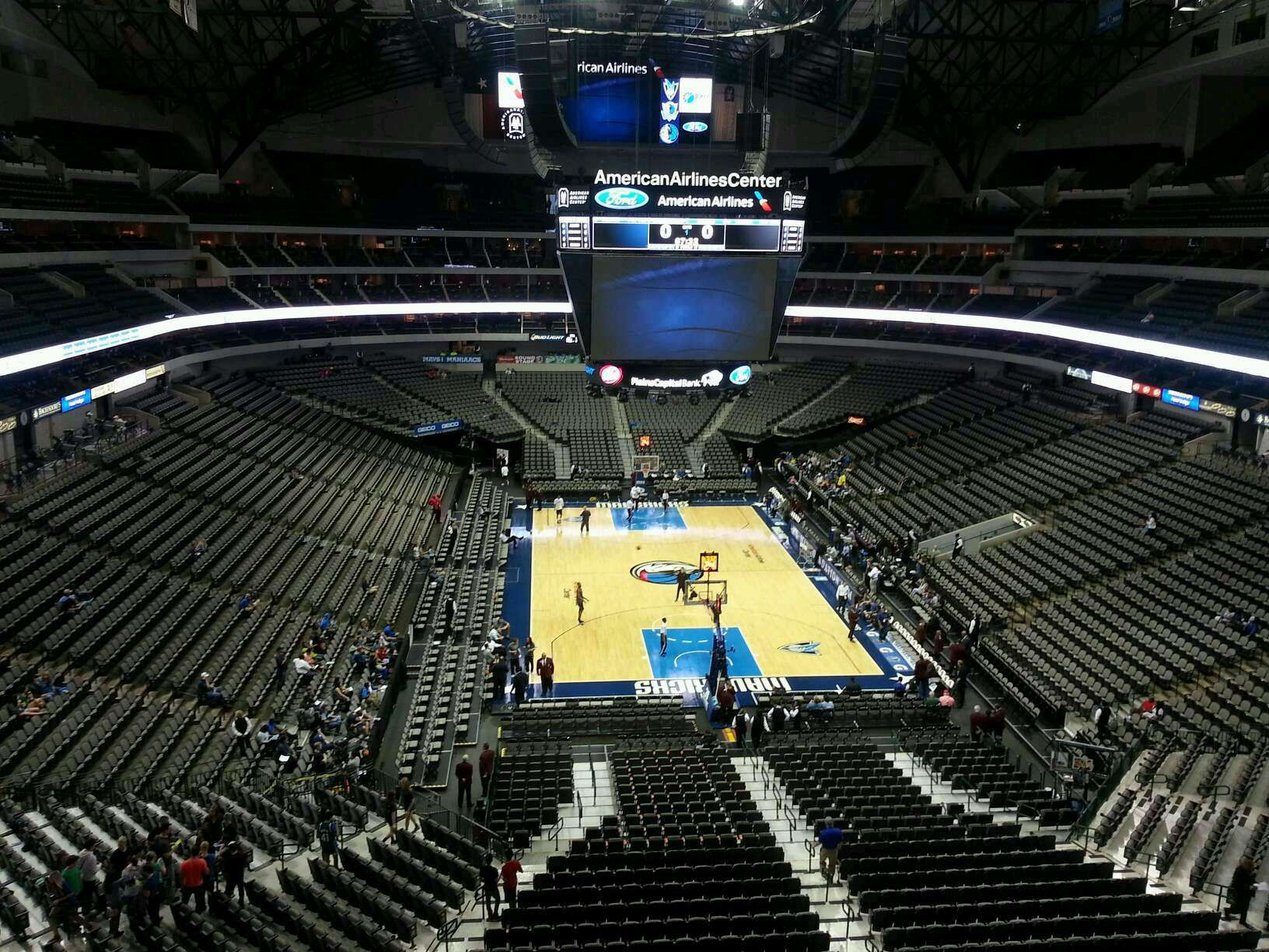 American Airlines Center Interactive Seating Chart For
