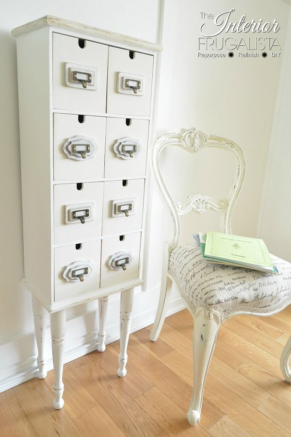 Apothecary Cabinet   Interior Frugalista - Featured at the Home Matters Linky Party 121