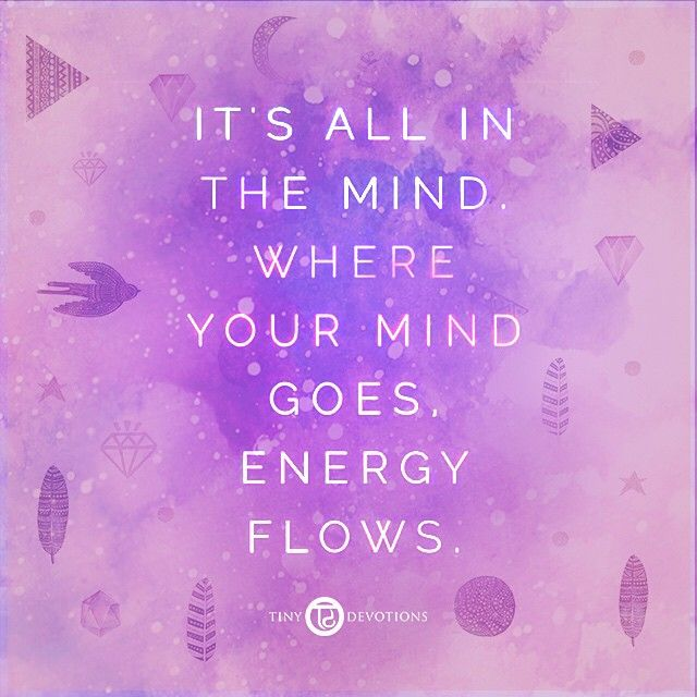 It's all in the... ✨ #tdme #malabeads #mind #energy #flow #mantra #quote