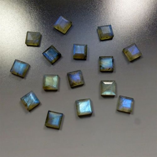 #dashrath_international Natural Labradorite #Faceted Cut Square Calibrated Size- 5mm Pieces- 10pcs Price- $22.99 paypal.me/DASHRATHINT/22.99 Labradorite displays a beautiful iridescent play of colors, caused by internal fractures, dispersing it into different colors, this effect, known as labradorescence. Labradorite is Translucent to transparent #labradorite #gemstone #naturalgemstone #jewelrymaking #naturallabradorite #gemstonesupplier
