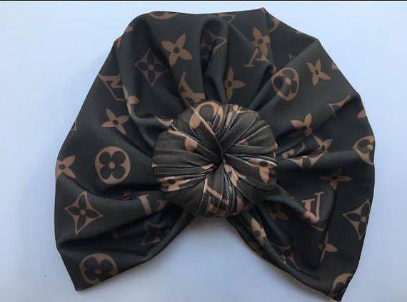 a7d9324ae310 Louis Vuitton inspired baby turban