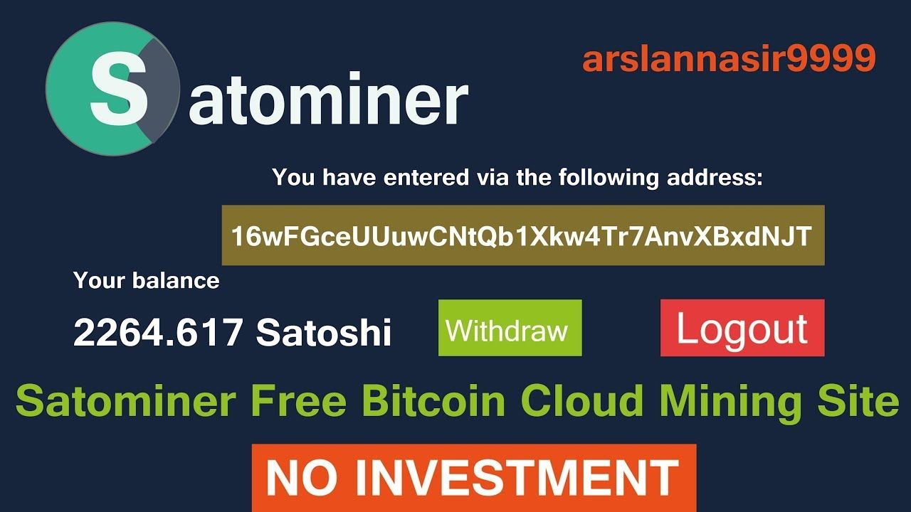 bitcoin mining as an investment