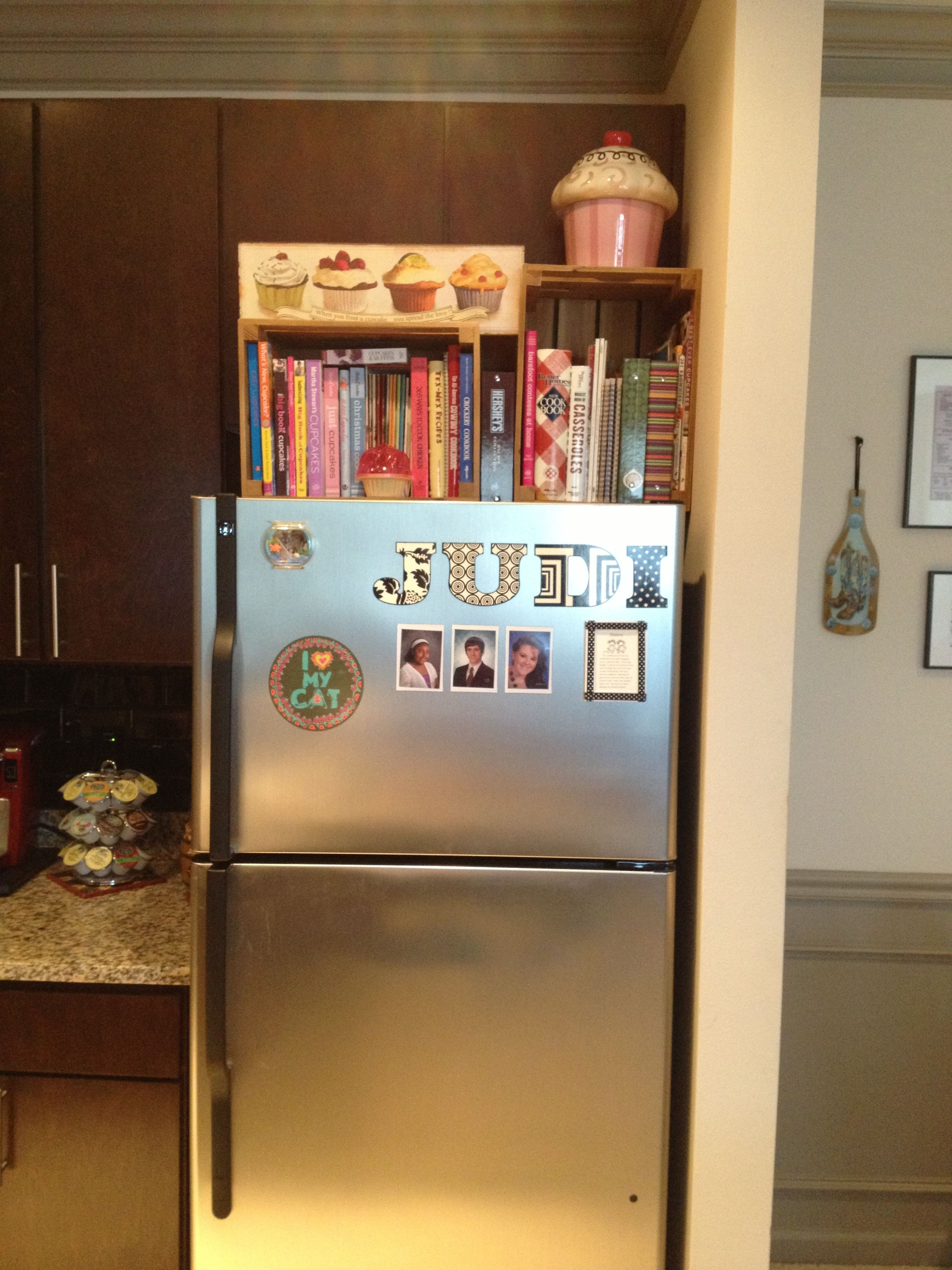 Cookbook Storage In A Small Kitchen