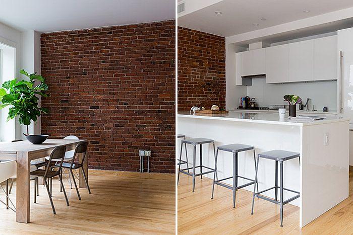 L\'efficacité du Minimalisme | Brique rouge, Mur en brique et Briques