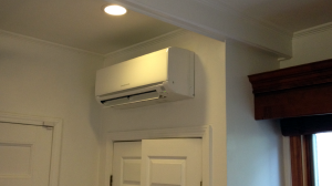 Going Ductless: How it can save you BIG time  (pictured: Wall