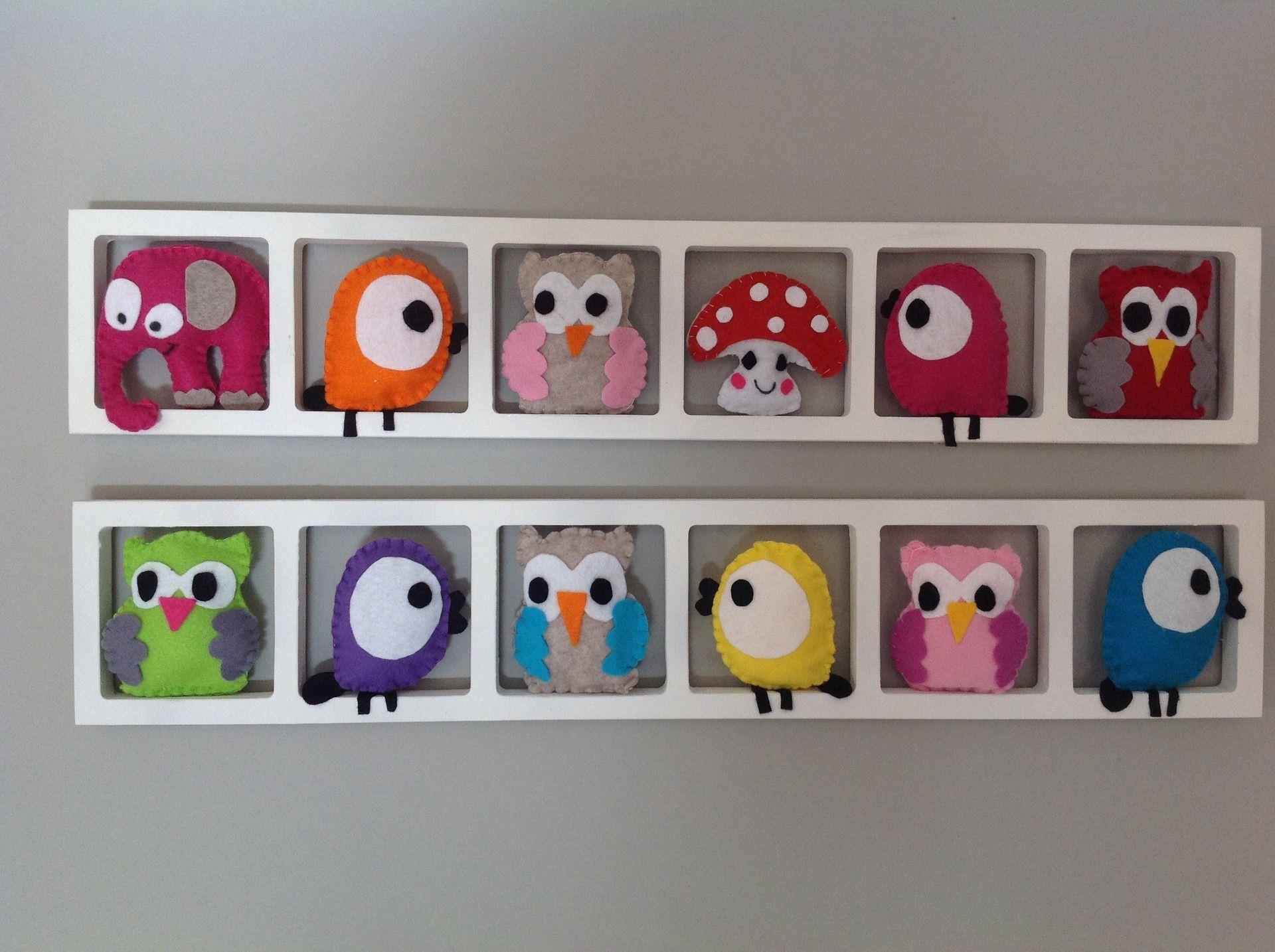 Idée décoration chambre enfant et bébé Cadre mural animaux