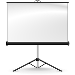 7 Free Powerpoint Alternatives For Your Presentation Needs Projector Screen Projection Screen Screen