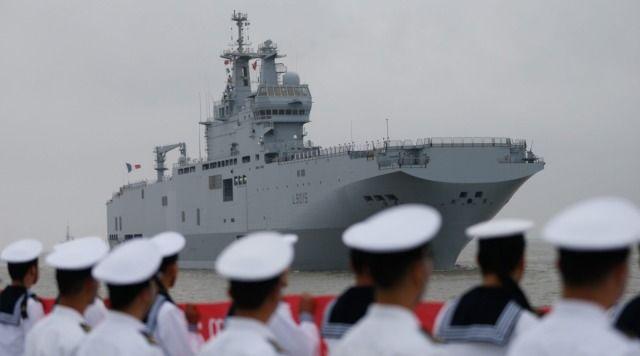 Mistral przypłynął do Szanghaju. Próba sprzedania Chińczykom?