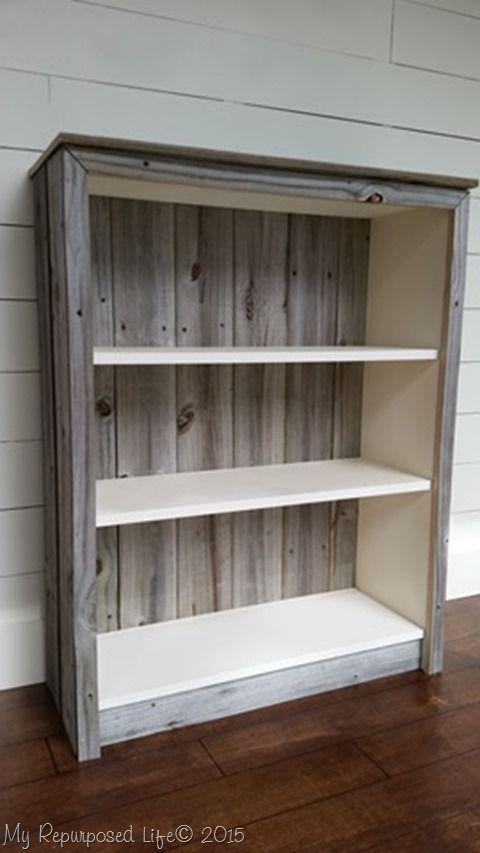 Ikea Billy Bookcase Reclaimed Wood
