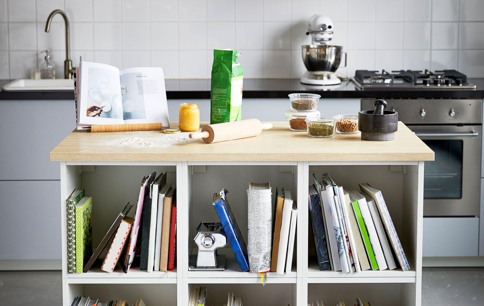 îlot De Pâtisserie Mode Demploi Deco Ilot De Cuisine Ikea