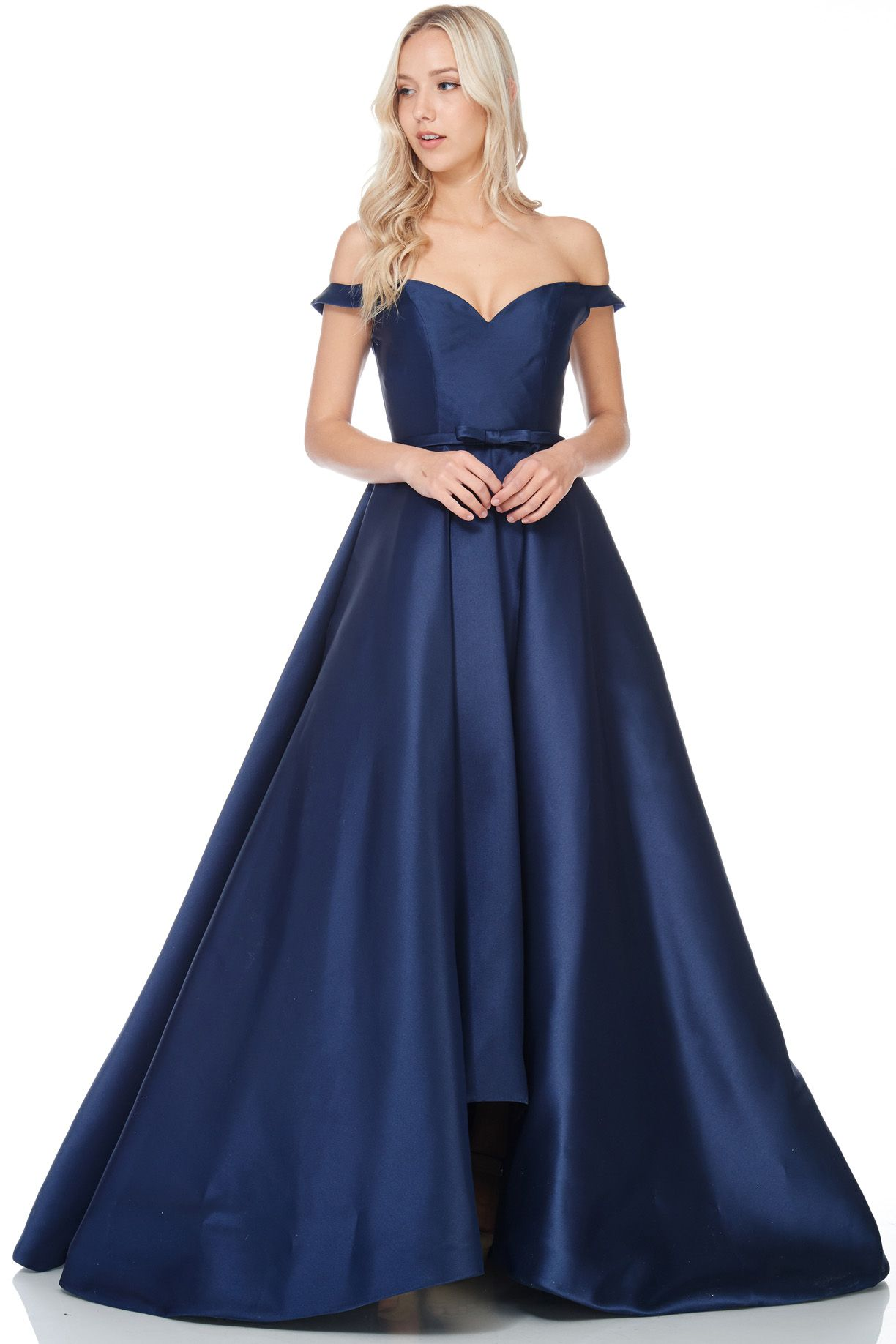 455c0bb91a14 Taffeta Navy Ball Gown Bridesmaid Dress : contact us for special order.