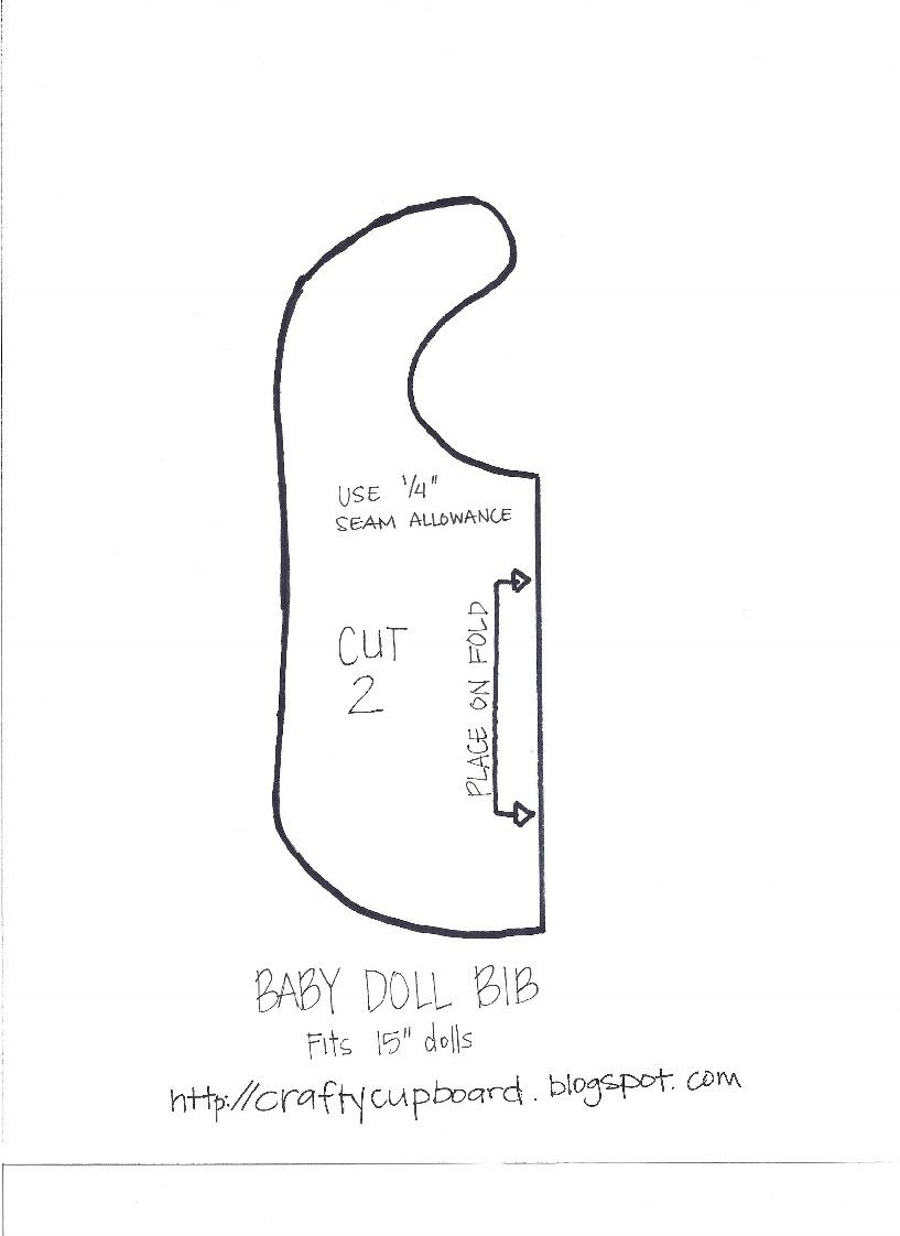 Free Baby bib pattern pdf with pocket tutorial | Baby bibs