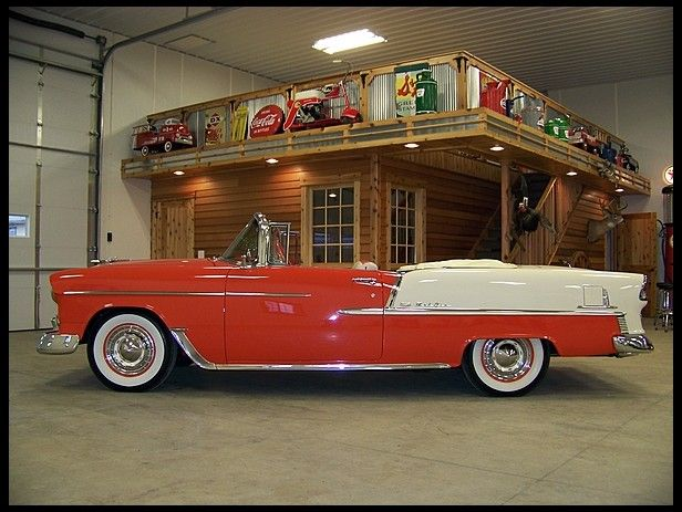 1955 Chevrolet Bel Air Convertible 283 CI, Automatic presented as lot F227 at Houston, TX 2012 - image1