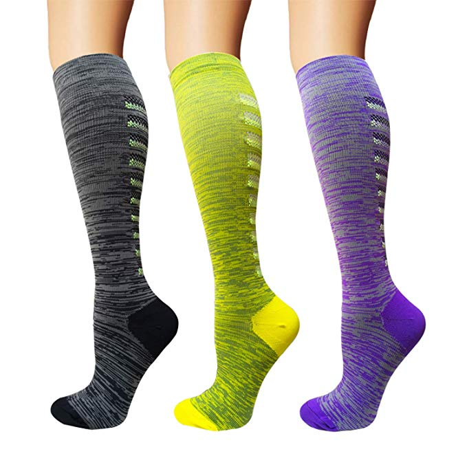 3/5 Pairs Compression Socks Women & Men Best Medical