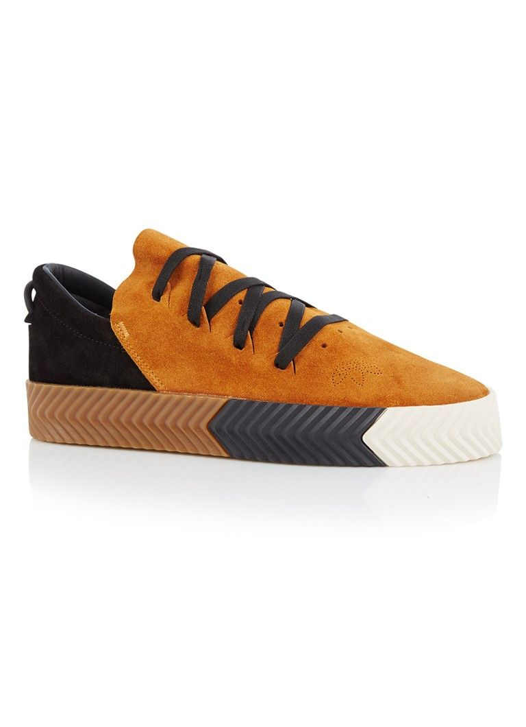 2d51fcf69ad adidas Originals by ALEXANDER WANG AW Skate sneaker van suède • de Bijenkorf