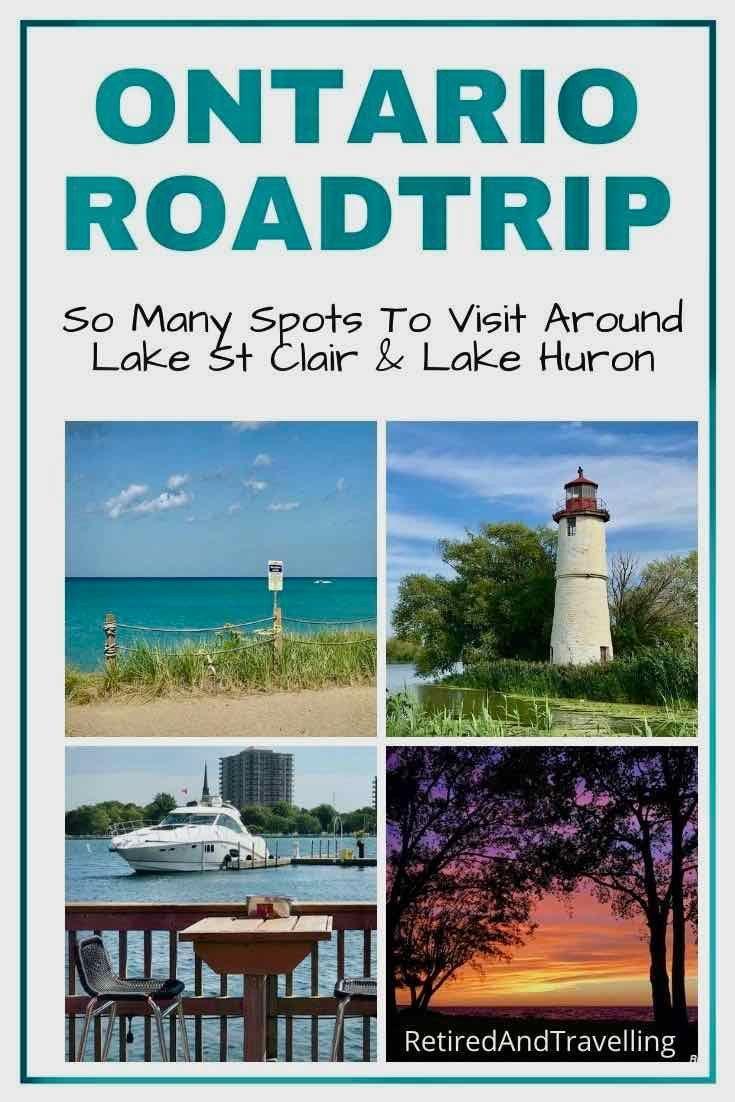 Enjoy a roadtrip along the shores of lake huron and lake