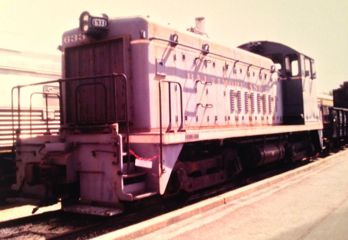 SW 1000 EMD Yard Switcher, at the B&O Museum, Baltimore, Md.
