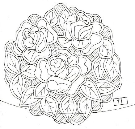 richelieu   Dessin de roses, Broderie blanche, Richelieu