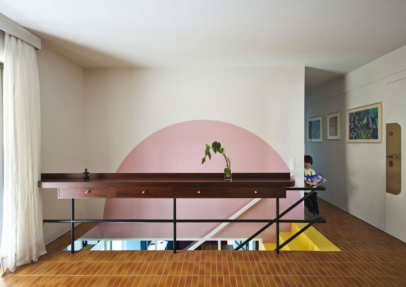 Nadja Apartment by Point Supreme Architects