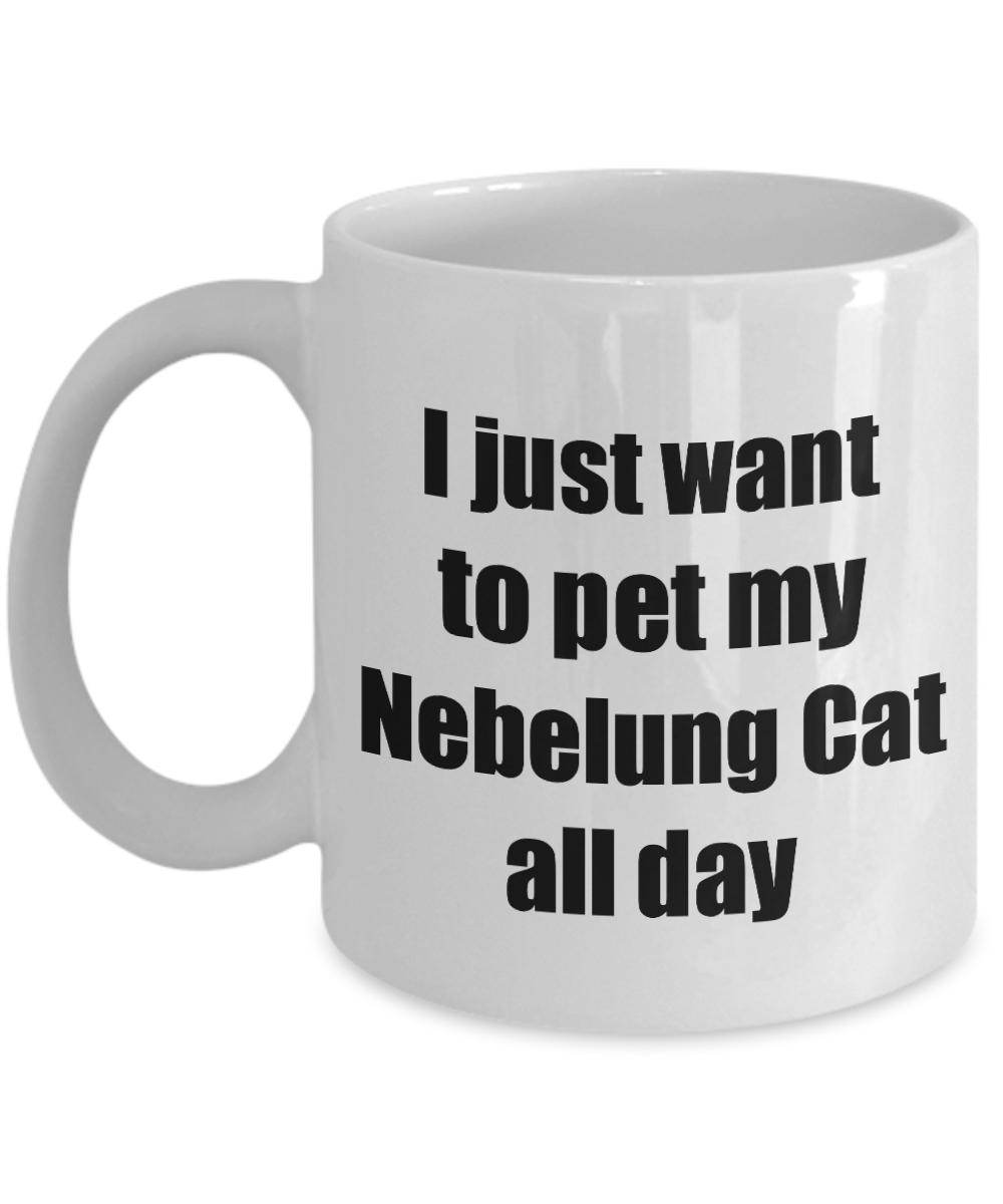 Nebelung Cat Mug Lover Mom Dad Funny Gift Idea Gag Coffee Tea Cup