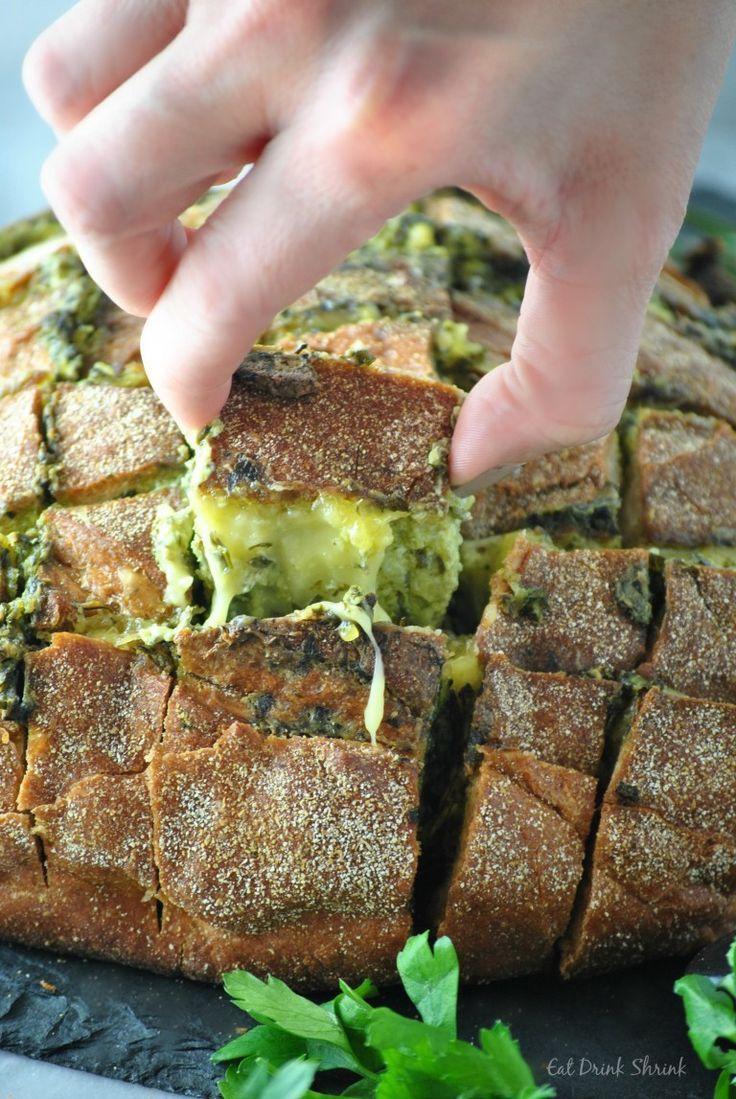 Vegan Cheesy Pull Bread Vegan Cheesy Pull Bread  DSC0487