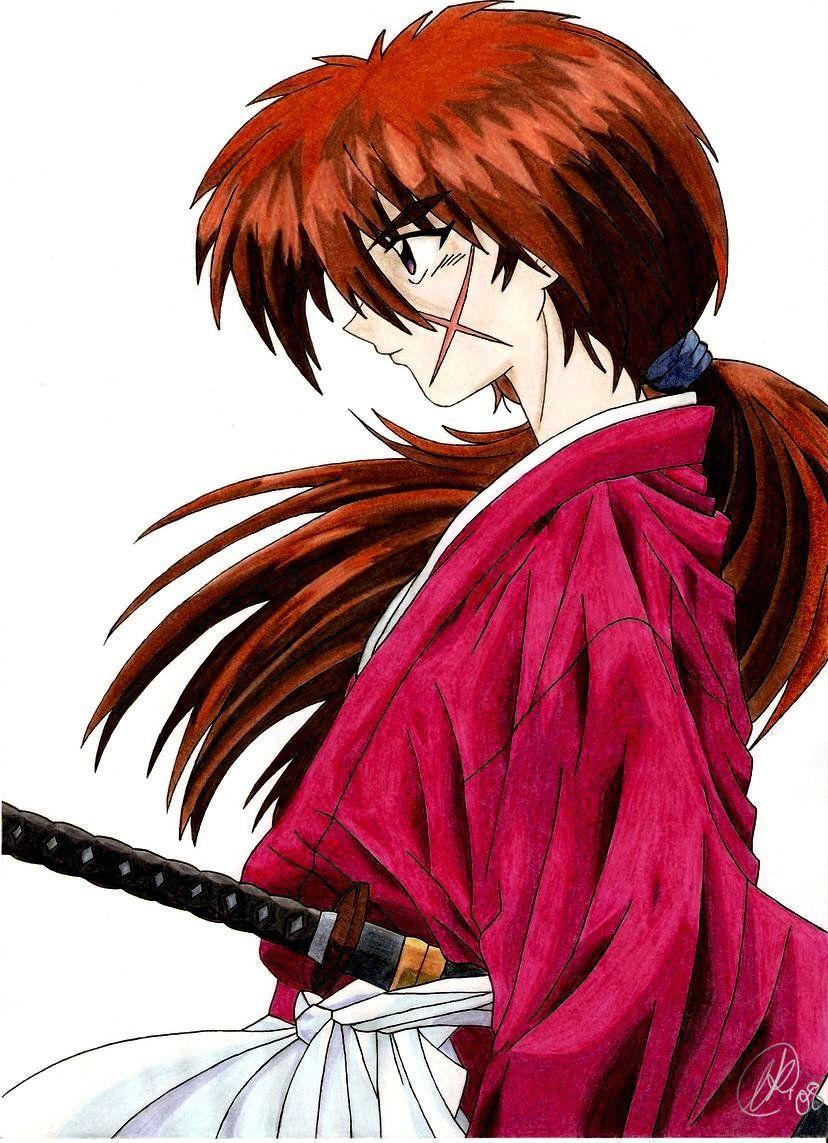 картинки самурай икс кенси таких нарядах вашему
