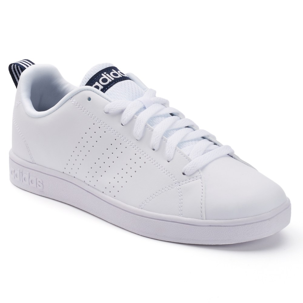new style 26a0e 7676c ... usa adidas neo advantage mens sneakers white e4558 ea1f7