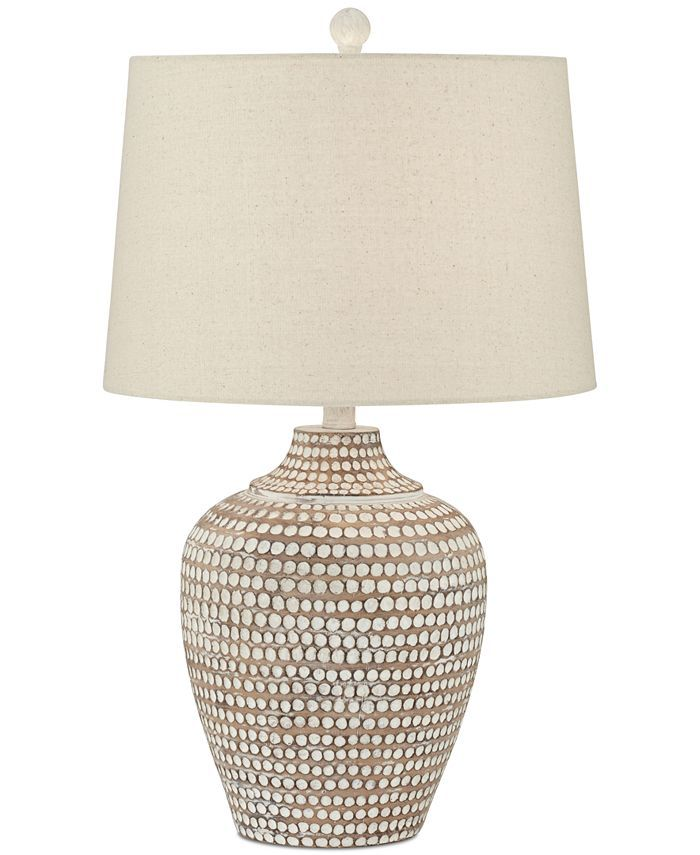 Pacific Coast Alese Table Lamp Reviews All Lighting Home Decor Macy S In 2021 Hammered Lamp Brown Table Lamps Lamp