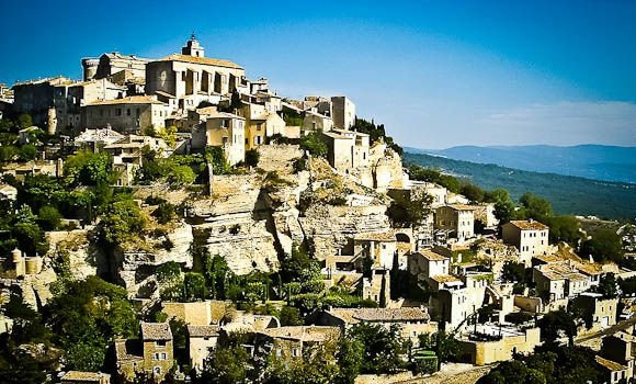 Gordes One Of The Five Hilltop Towns Of Luberon France This Was My Favorite The Best Village Open Market Charmi Travel Activities France Travel Provence