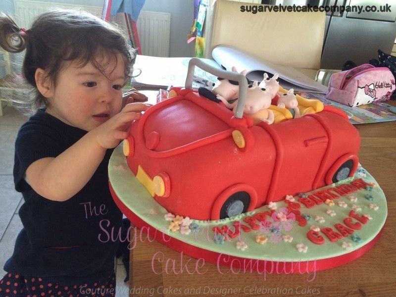 Peppa Pig Car Cake Yorkshire Copy Copy Amy Cake Ideas