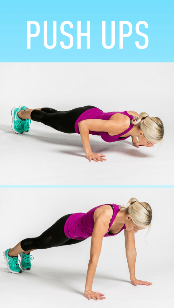 Push Ups #fitness #workout #exercise #looseweight