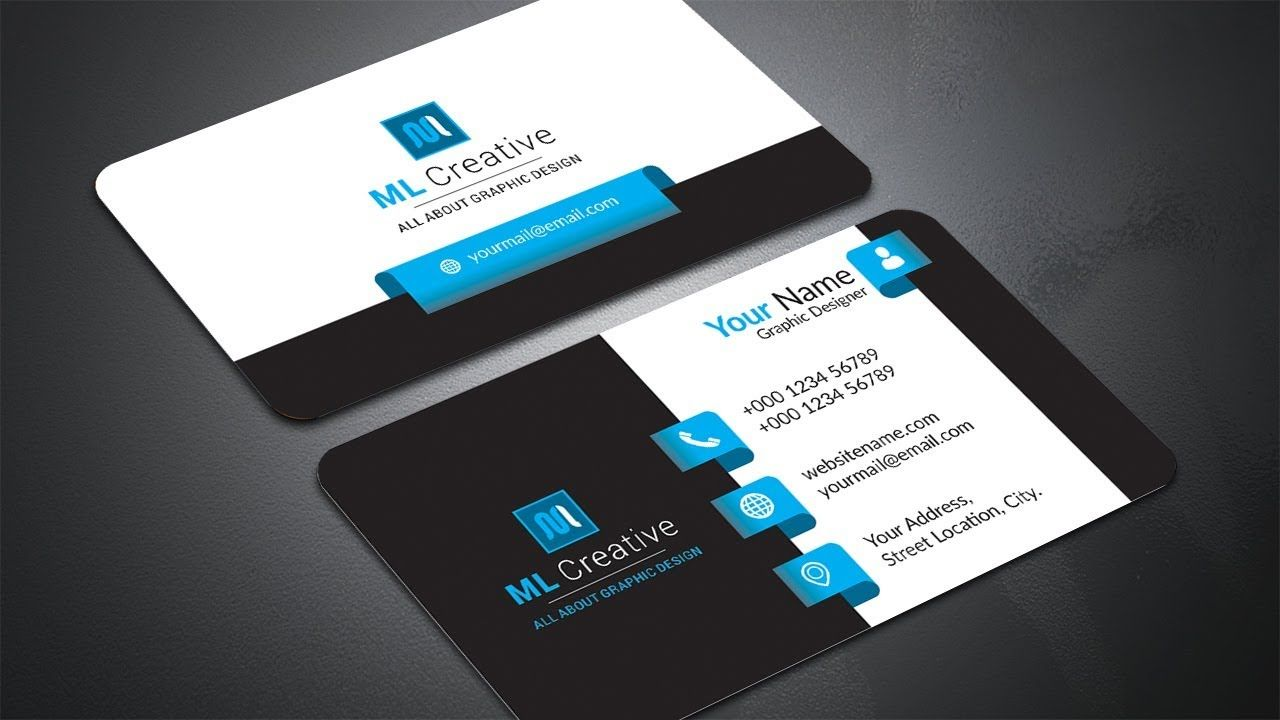 01 Business Card Design In Corel Draw Business Cards Creative Templates Business Card Design Business Cards Creative