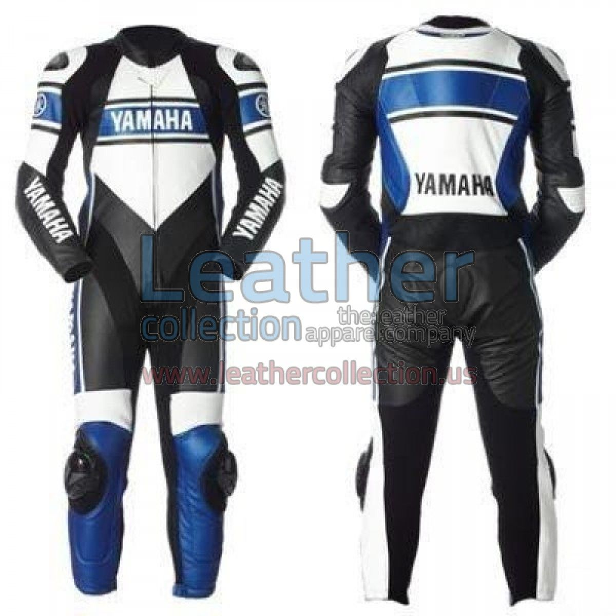 Yamaha Blue Motorbike Racing Leather Suit is especially designed for  professional riders to fulfil their biking