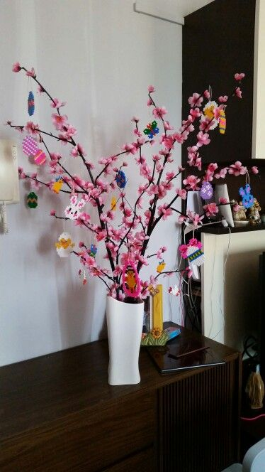Albero di pasqua con hama beads tania pinterest albero di pasqua hama beads e albero - Albero di pasqua idee ...