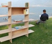 Simple and Practical Design Bookcase by Club4design