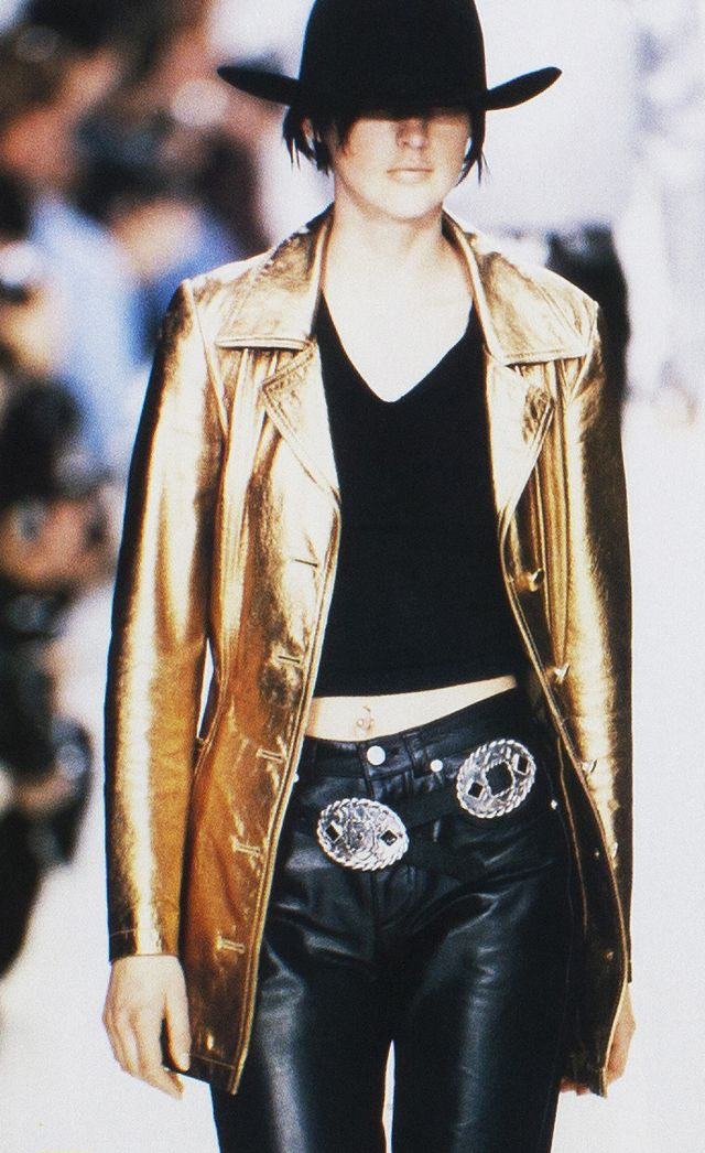 STELLA TENNANT - DKNY label by donna karan fall winter 1995 1996 new ...