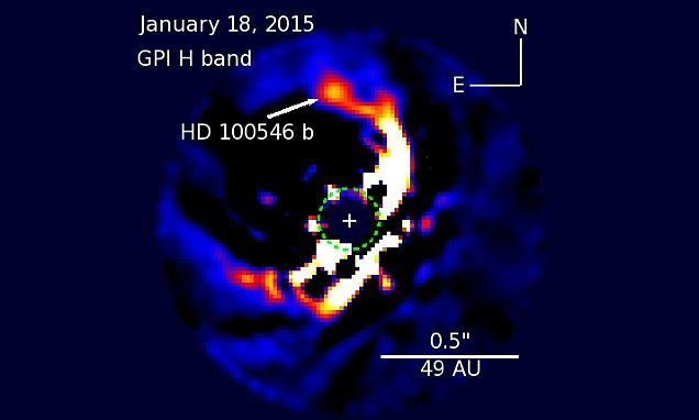 Peering into a planet nursery: Astronomers capture two ...
