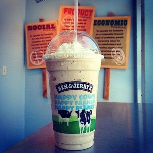 Must try this! Ben and Jerry's MILKSHAKE??! :P