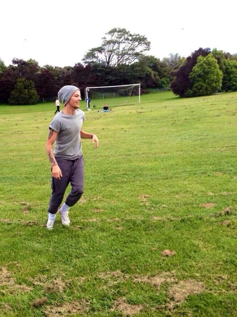playing soccer in Christchurch