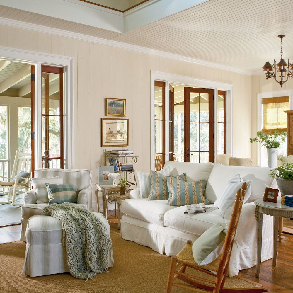 100 Comfy Cottage Rooms | Room, Coastal and House
