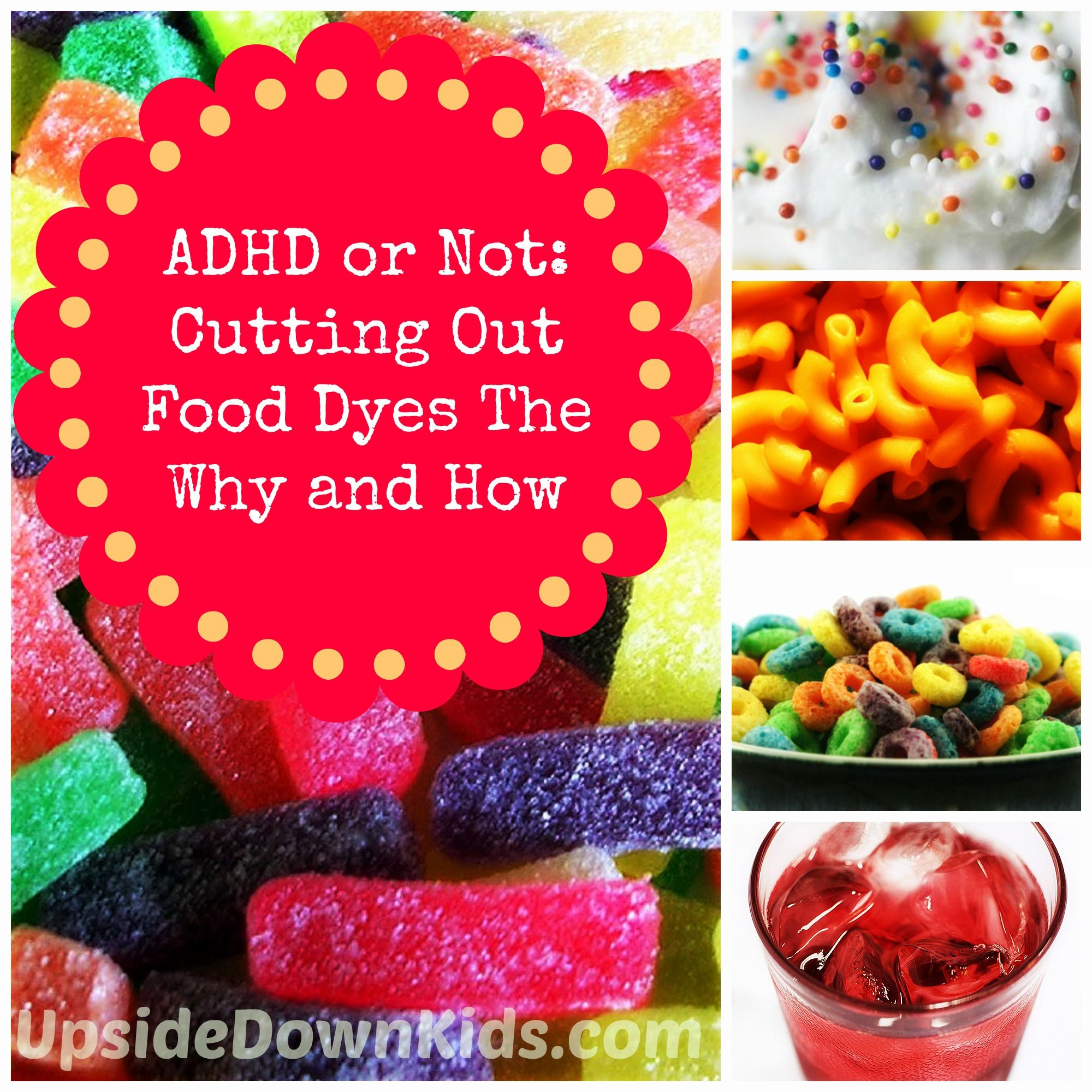 Food dyes | circus in my head | Pinterest | ADHD, Add adhd and Aspergers