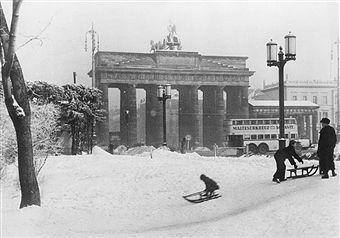 Berlin Brandenburger Tor Im Winter 1940 Berlin Brandenburger Tor Geschichte