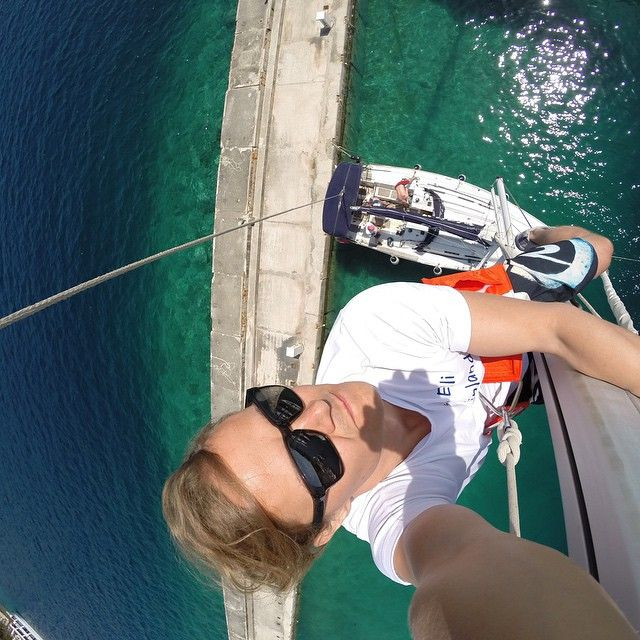 """#Goodspeed helped me make the most out of my sailing trip to sunny Croatia"" - Mikko P. (al forno(アル・フォルノ))"